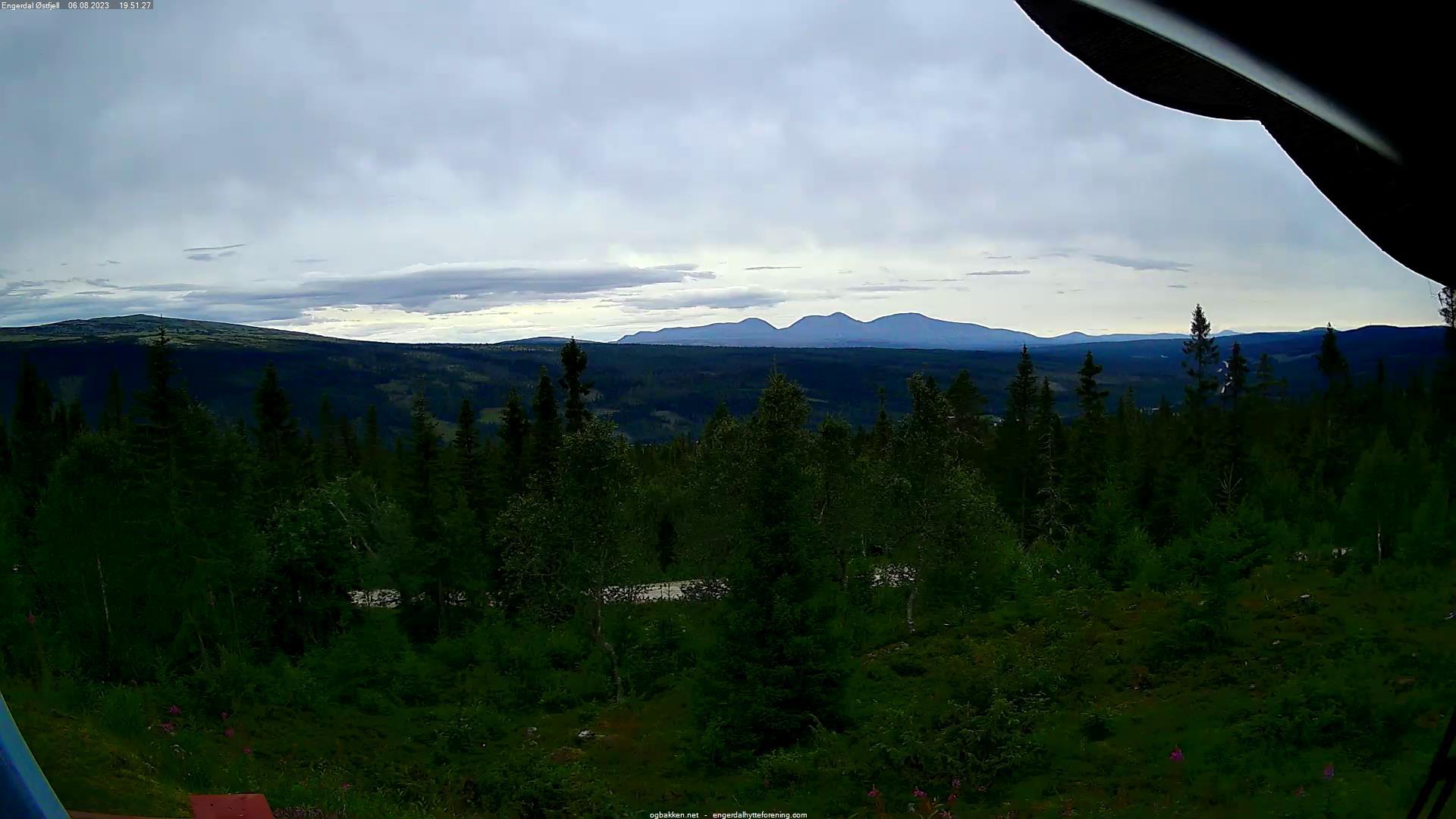 Webcam Engerdal Østfjell, Engerdal, Hedmark, Norwegen